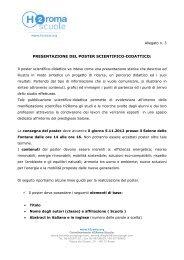 Allegato n.3 - Linee guida per il Poster Scientifico-Didattico - H2Roma