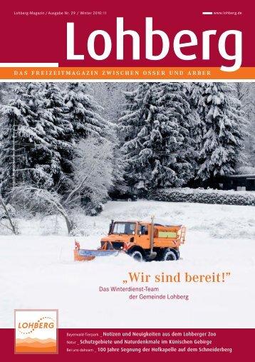 Ski- und Langlaufschule - Gemeinde Lohberg