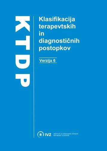 Klasifikacija terapevtskih in - IVZ RS