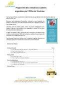 Télécharger la brochure des Animations scolaires - Office de ... - Page 2
