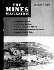 1 - Mines Magazine - Colorado School of Mines