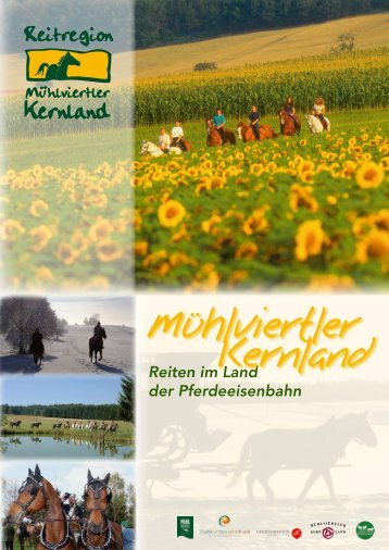 Reiten im Land der Pferdeeisenbahn - LEADER-Region Mühlviertler ...