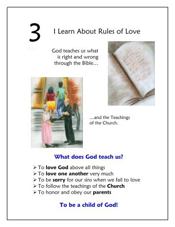 I Learn About Rules of Love - Pastoral Planning