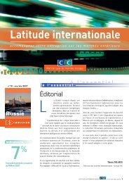 Latitude Internationale n°10 - CIC