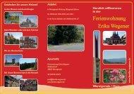 Ferienwohnung Erika Wegener - Ferienwohnung Wernigerode / Harz