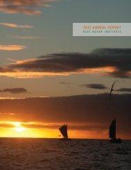 2012 Annual Report PDF - Blue Ocean Institute