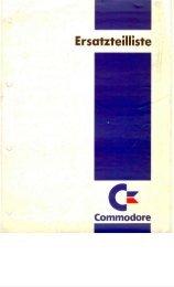 Commodore Ersatteilliste 2/1992 - Retroport