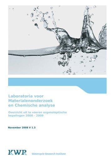 Laboratoria voor Materialenonderzoek en Chemische analyse