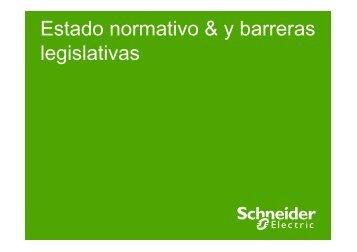 Schneider - estado normativo & y barreras legislativas