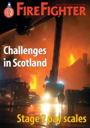 Volume 32 No. 1 January/February 2004 - of the Fire Brigades Union