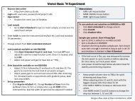 VnmrJ Basic 1H Experiment - UCSB Chem and Biochem NMR Facility