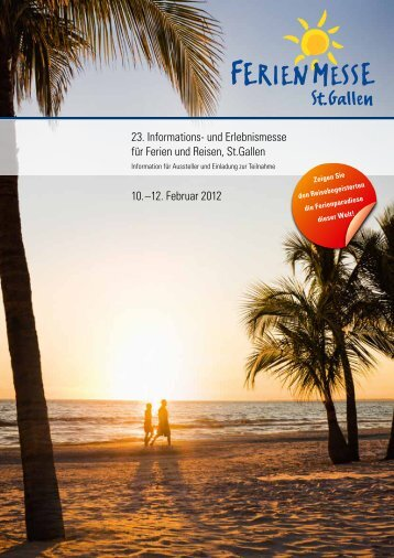 23. Informations- und Erlebnismesse für Ferien und Reisen, St ...