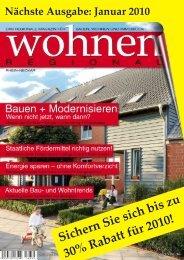 2009-11-13 Agumentation - Entwurf 06 - Wohnen Regional Online ...