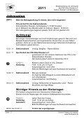Jahresplan 2011 - PSV Elbe Dresden eV -Sektion Wandern und ... - Seite 2