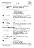 Jahresplan 2011 - PSV Elbe Dresden eV -Sektion Wandern und ... - Seite 3
