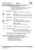 Jahresplan 2011 - PSV Elbe Dresden eV -Sektion Wandern und ... - Seite 5