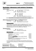 Jahresplan 2011 - PSV Elbe Dresden eV -Sektion Wandern und ... - Seite 6