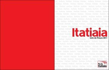 Lista de Preços 2011 - Rádio Itatiaia