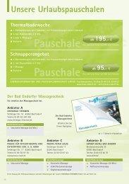 Pauschale Pauschale - Bad Endorf