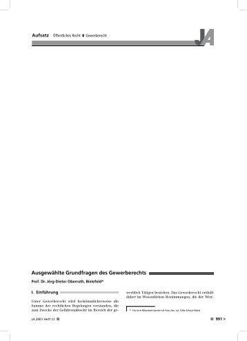 Aufsatz Zivilrecht Bgb