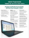 Telephone Entry Systems - Page 5