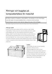 Byggtips och ritningar på komposter