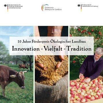 Betriebsprofil - Förderpreis Ökologischer Landbau