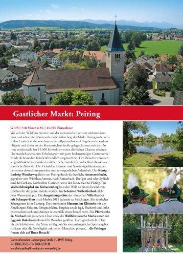 Gastlicher Markt: Peiting