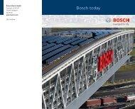 Bosch today