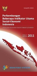 Edisi Februari 2011 - Badan Pusat Statistik