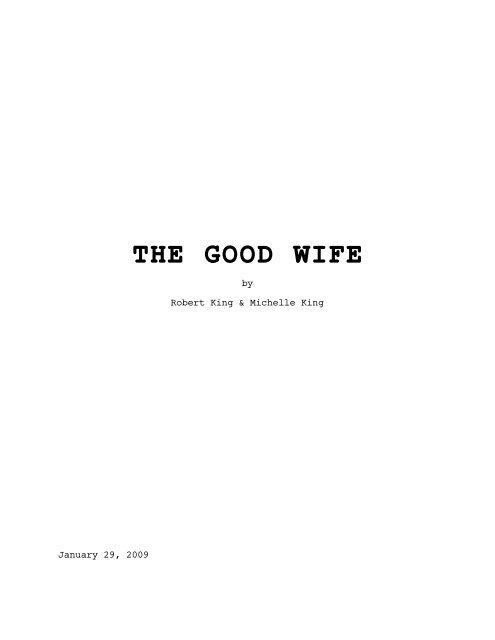 Good Wife script.fdr - A TV Calling
