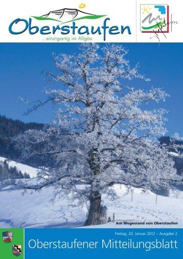Ab Februar 2012 ist die Malschule im Woll- und ... - Stiefenhofen