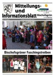 20 Jahre bei den Zinnert' s in Bischofsgrün - Gemeinde Bischofsgrün