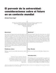 El porvenir de la universidad: consideraciones sobre el futuro en un ...