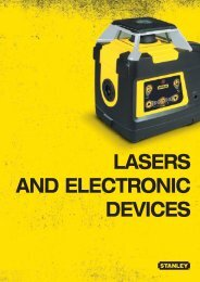 Lasers and eLectronic devices - Stanley