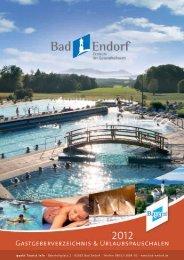 Urlaubspauschalen für Sie - Bad Endorf