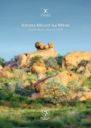 Xstrata Mount Isa Mines