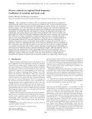 Blöschl, G. and M. Sivapalan (1997) - Institut für Wasserbau und ...