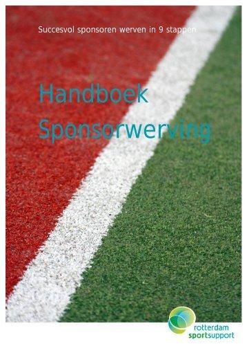 Handboek Sponsorwerving - Rotterdam Sportsupport