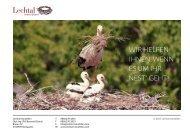 Info-Broschüre - Lechtal Immobilien