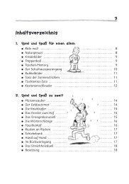 Inhaltsverzeichnis - Auer Verlag