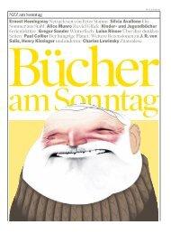 Ernest Hemingway Neu gelesen von Peter Stamm - Neue Zürcher ...