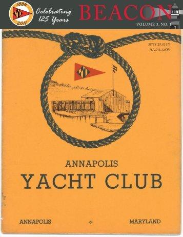 Spring 2011.indd - Annapolis Yacht Club