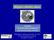 Hyper-velocity stars (35m)