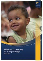Brimbank Community Learning Strategy 2010 – 2013