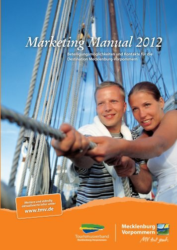 Marketing Manual 2012 - Touristiker-Branchentreff