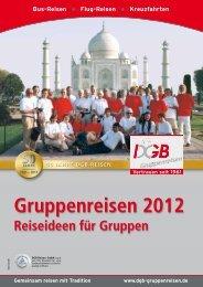Gruppenreisen 2012