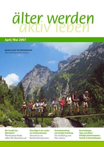April/Mai 2007 - älter werden online