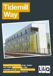 Tidemill Way Brochure - London & Quadrant Group