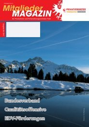 Ausgabe 04-2011 - Privatvermieter Verband Tirol